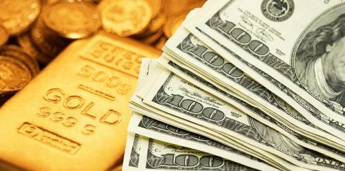 صعود خجول للذهب وسط تعرضه لضغوط من الدولار
