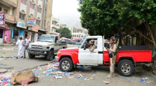 اشتباكات بين مجاميع مسلحة في تعز والشرطة العسكرية تتدخل