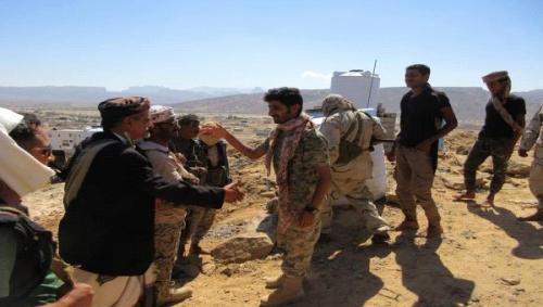 تفاصيل حادثة اصابة امين القاحلي قائد نقطة عياذ التابعة لقوات النخبة الشبوانية