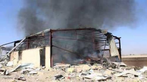 التحالف العربي يقصف صعدة وصنعاء بعد اعتراض صاروخ