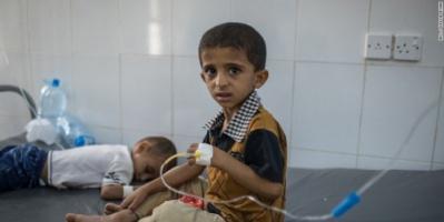 أوكسفام: مليون طفل يمني معرضون لخطر الإصابة بمرض الدفتيريا