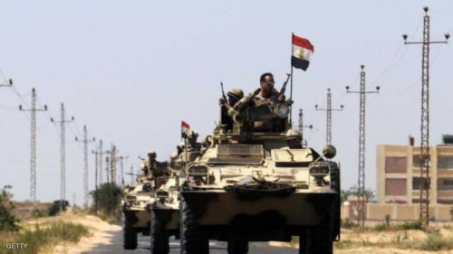 مقتل «5» مسلحين وضابط في اشتباكات بمحيط مطار العريش