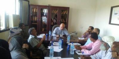 اللجنة الوزارية للتعليم الفني تشيد باداء مكتب التعليم الفني لحج
