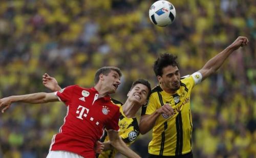 بايرن ميونخ يطيح ببوروسيا دورتموند مبكرا من كأس ألمانيا