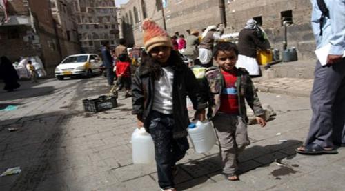 الصليب الأحمر: مليون حالة يشتبه بإصابتها بالكوليرا في اليمن