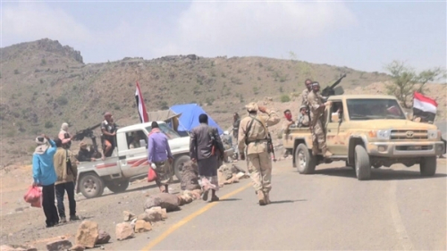 «حسين الحوثي» وثلاثة من مرافقيه في قبضة الجيش الوطني بالضالع