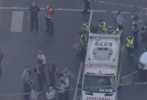 """إصابة 19 شخصًا في حادث دهس """"متعمد"""" بأستراليا"""
