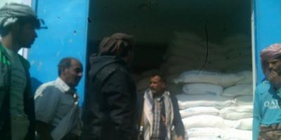 التكافل تدشن توزيع 4200 سلة غذائية في بيحان شبوة