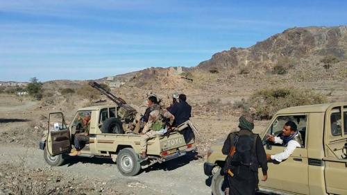 الجيش الوطني يعلن عن أسر 12 حوثيا  أثناء تمشيط عسكر الأجاشر بمحافظة الجوف