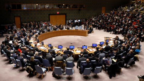 """مجلس الأمن يدين بشدة إطلاق """"الحوثي"""" صواريخ على الرياض"""
