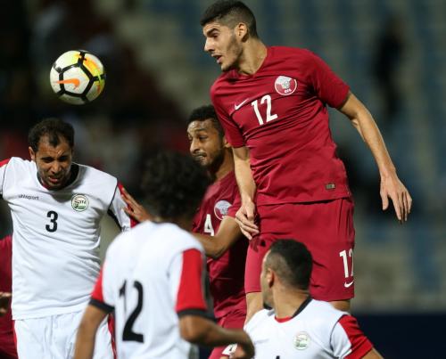 قطر تكتسح اليمن برباعية في افتتاح مباريات المجموعة الثانية لخليجي 23