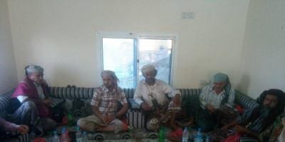 القائد أبو اليمامة يجمع قبيلتي آل بن حسن وآل بن فليس بعد قطيعة دامت ٢٠ عام
