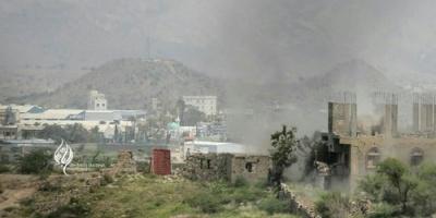 معارك عنيفة بين الجيش والمليشيا في الجبهة الغربية لتعز