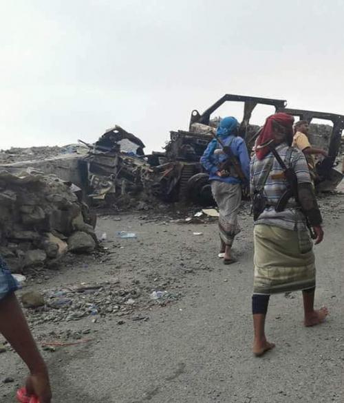 المقاومة الجنوبية تصد هجوما لمليشيات الحوثي في جبهة ثرة بـ #ابين