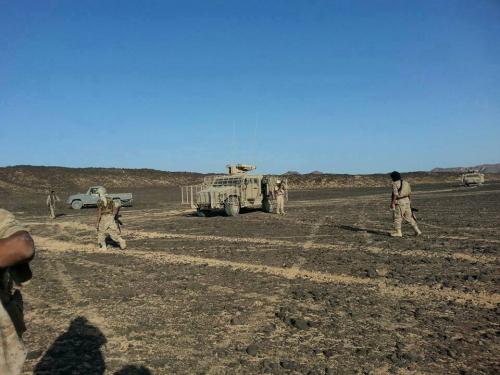 الجيش الوطني يشرع بتطهيرالمواقع المحررة شرق صنعاء من الألغام