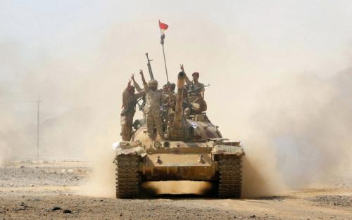الجيش يسيطر علـى أولـى قــرى أرحب في صنعاء ومواقع استراتيـجية بالبيضاء