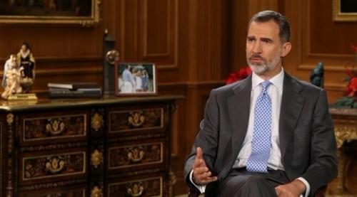 """ملك إسبانيا يدعو نواب كتالونيا إلى تفادي """"مواجهة"""" جديدة"""