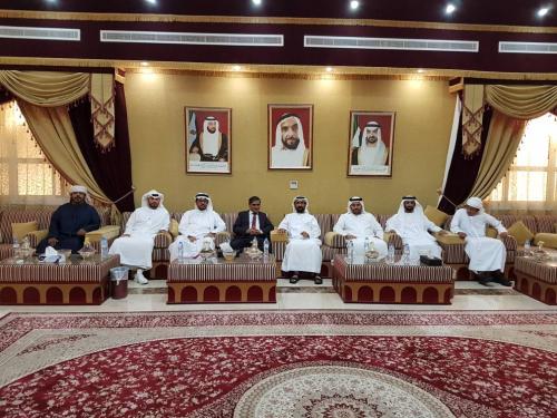 المحافظ البحسني يدعو رجال الأعمال بدولة الإمارات للإستثمار في حضرموت
