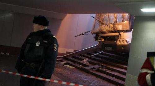 5 قتلى إثر اقتحام حافلة ممرا للمشاة بموسكو