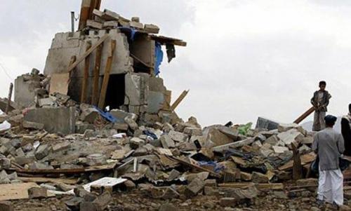 الجوف : غارة للتحالف على معسكر للحوثيين توقع قتلى وجرحى وتدمير كميات كبيرة من الأسلحة