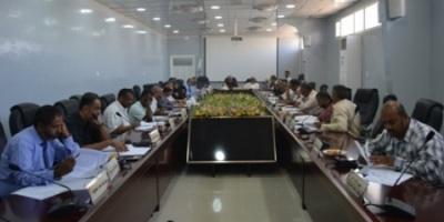 مجلس  جامعة حضرموت يعقد دورته الاعتيادية لمناقشة عدد من القضايا الاكاديمية والتعليمية