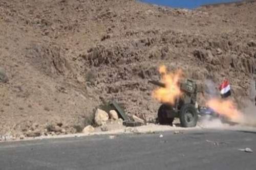 الجيش الوطني يخترق تحصينات الحوثيين في مسورة نهم
