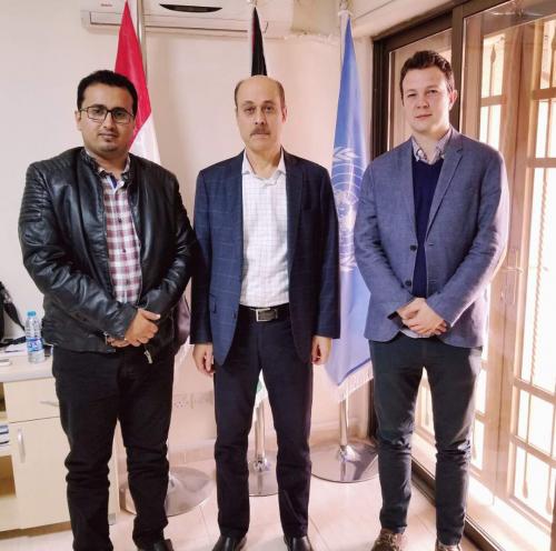 المتحدث باسم المجلس الانتقالي يلتقي نائب المبعوث الخاص للأمم المتحدة إلى اليمن