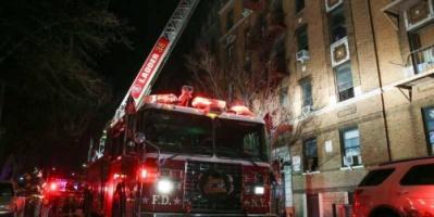 تفاصيل أسوأ حريق يضرب نيويورك منذ ربع قرن