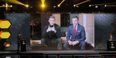 رونالدو يفوز بجائزة جديدة كأفضل لاعب بالعالم