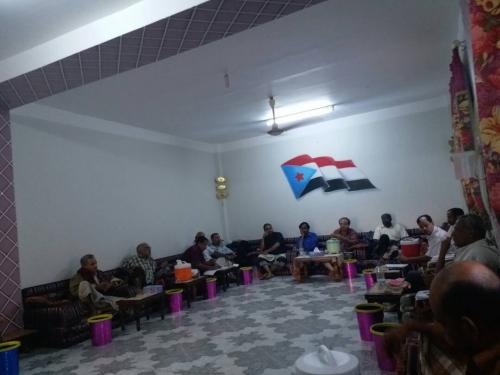الأمانة العامة لمجلس الحراك الثوري تعقد اجتماعا هاما للوقوف أمام تطورات الأوضاع على الساحة الجنوبية
