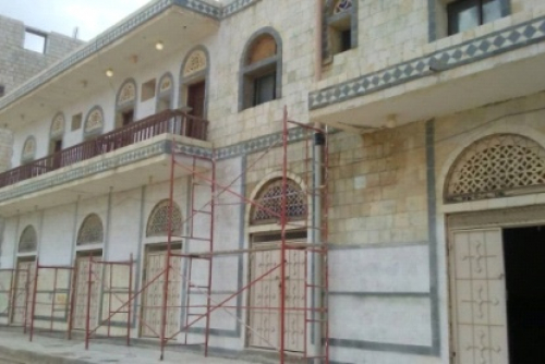 مؤسسة خليفة بن زايد تعيد تأهيل كلية المجتمع بسقطرى