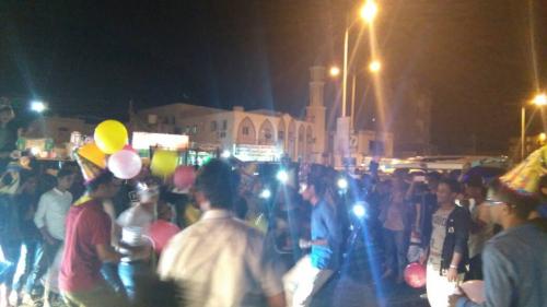 عدن تشارك عواصم العالم وتحتفل بالعام الجديد ( فيديو )