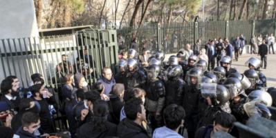 تواصل المظاهرات بالمدن الإيرانية..واعتقال 200 بطهران