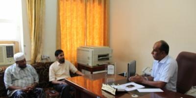 مؤسسة البر للتنمية الاجتماعية بالقطن تزور جهات رسمية ومهنية بوادي حضرموت