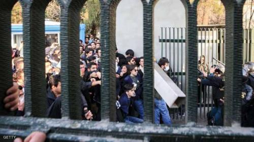 مقتل شرطي وإصابة 3 في مظاهرات إيران