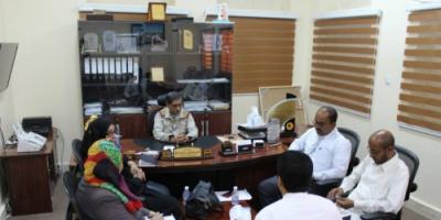 محافظ حضرموت يلتقي بوفد اللجنة الوطنية للتحقيق في ادعاءات حقوق الإنسان