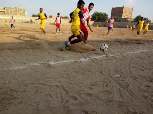 انطلاق دوري الشهيد محمد صالح علي للفرق الشعبية بجعار