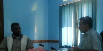 مدير عام بروم ميفع يناقش عددا من الملفات التربوية مع مدير مكتب التربية بساحل حضرموت