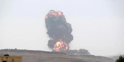 مقتل 7 حوثيين جراء غارات للتحالف العربي بمحافظة البيضاء