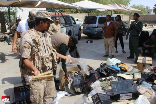 الأمن  يداهم سوق السلاح في الشيخ عثمان وأنباء عن اندلاع اشتباكات