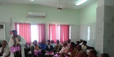 مؤسسة الصحة والتعليم للتنمية ( صوت) تعقد اللقاء الربعي باللجان المجتمعية بالملاح
