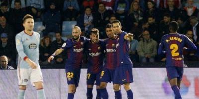 برشلونة يؤجل حسم تأهله بتعادل مع سيلتا فيجو