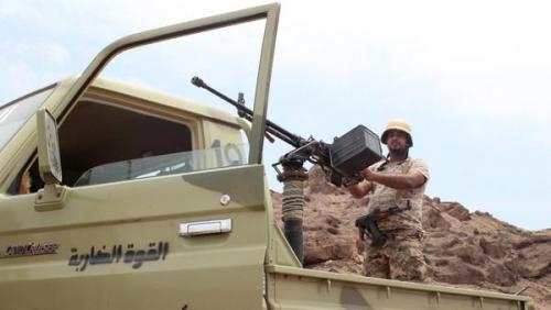 قائد اللواء الأول حرس حدود : الجيش الوطني في طريقه لدخول معقل الحوثيين