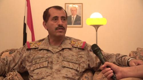 نقل رئيس أركان الجيش اليمني إلى السعودية لتلقي العلاج