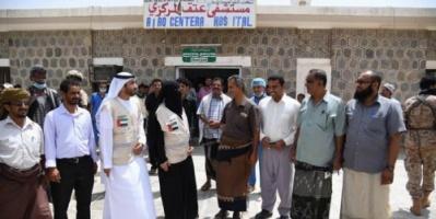 خطوات متسارعة لهيئة الهلال الأحمر الإماراتي للوصول إلى مختلف القطاعات الخدمية في محافظة شبوة