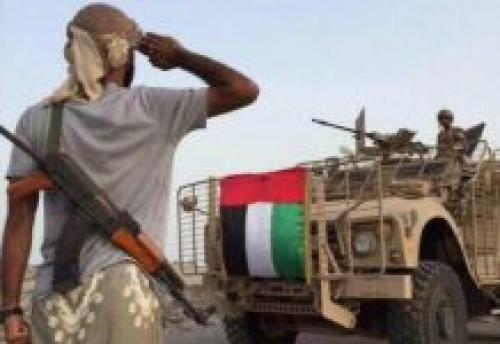 """انفوجرافيك """" الإمارات دور رائد في محاربة الإرهاب في اليمن"""