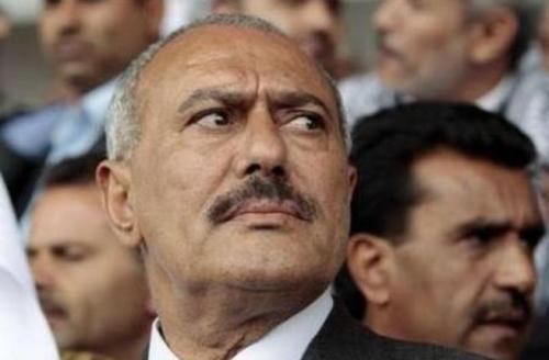 رقصة علي عبد الله صالح الأخيرة