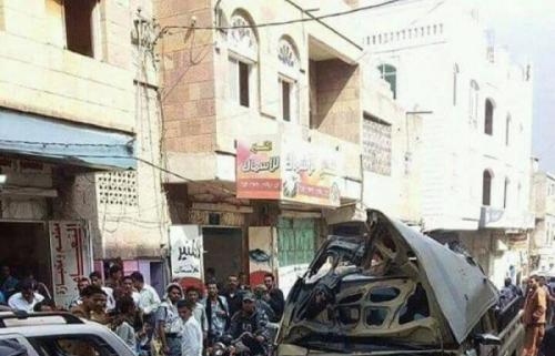 نجاة وكيل محافظة تعز من محاولة اغتيال وإصابة «4» مدنيين