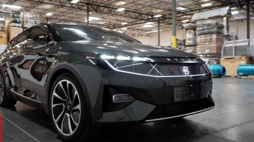 بيتون الصينية تكشف عن سيارة المستقبل الذكية
