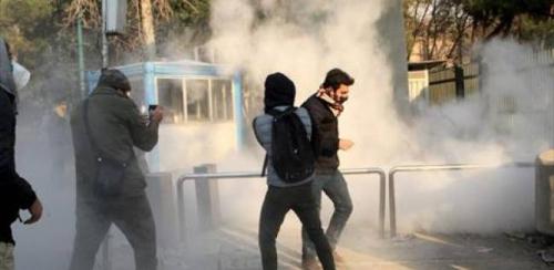 هيومن رايتس ووتش: على إيران التوقف عن استخدام القوة المفرطة ضد المتظاهرين
